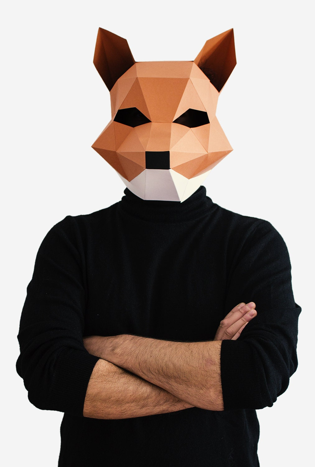 It's just a photo of Impertinent Printable Fox Mask