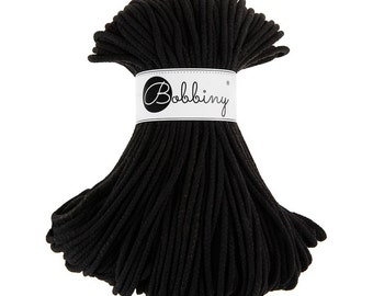 NEW! Bobbiny Rope – Black (100m)