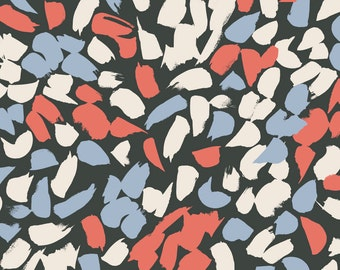 Atelier Brunette: Blossom Coral Fabric