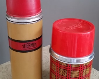 LOT Vintage Thermos, Aladdin Thermos
