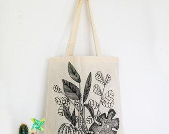 Tote Bag - love plant