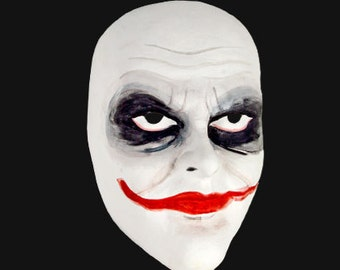 The Joker - Hand crafted / Painted Venetian Mask