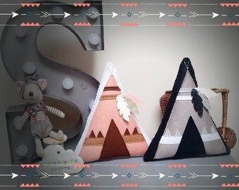 Teepee Shelf Decoration, Nursery Decor, Baby Shower Gift