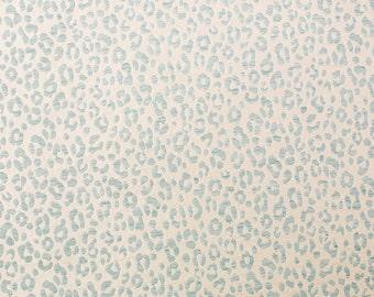 BEACON HILL Yaguara Silk Jacquard Embroidered Fabric 5 Yards Neptune
