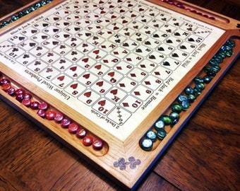 Inlayed Sequence Game Board