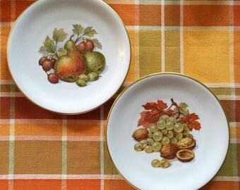 Zeh Scherzer dessert plates, Bavaria Germany