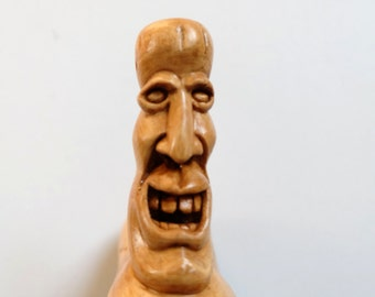 Hand Carved Cedar Incense Burner