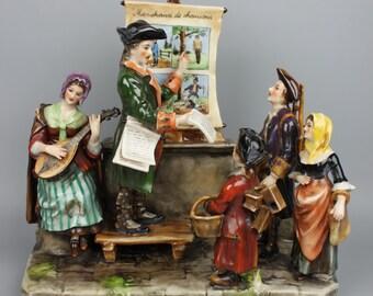 Antique Ackermann & Fritze figurine Town Crier