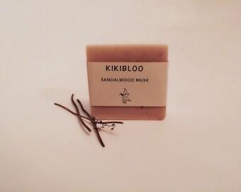 Sandalwood Musk Soap Vegan Cold Process Soap By kikibloo
