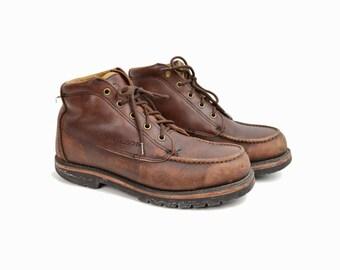 Vintage Filson Leather Boots / Men's Leather Work Boots - Men's 8