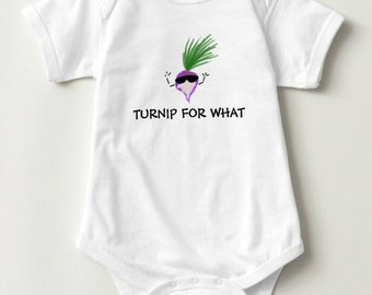 """Onsie """"Turnip for what"""""""