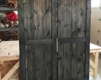 Rustic Custom Barn Doors