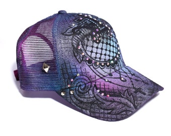 Lace Inspired Snapback