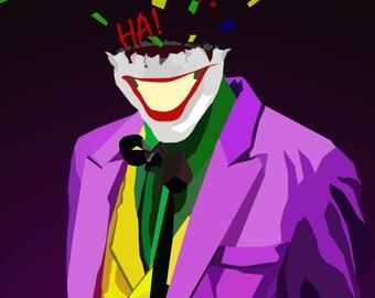 The Last Laugh- a Batman Poster 17x11