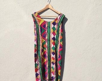 Tribal Shift Dress