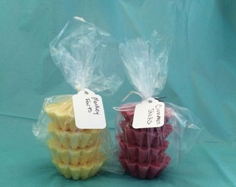 Highly scented soy wax tarts