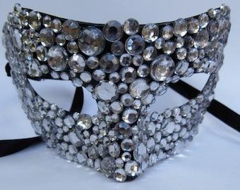 Rhinestone Masquerade Mask