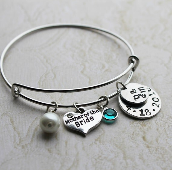 Mother Of The Bride Jewelry: Mother Of The Bride Bracelet Mother Of The By Loveherbyalissa