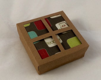 Gift box for 3x3 greeting card sets