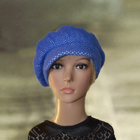 blue visor hat cap womens winter hat womens winter caps