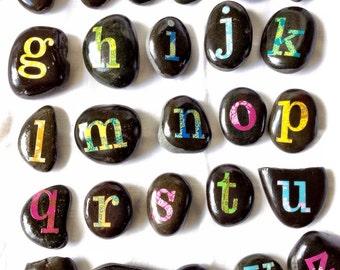 Sensory alphabet letters set