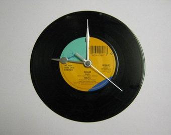 """The B-52's - """"Roam"""" Record Wall Clock"""
