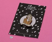 Ugh, as if! Clueless pin // clueless movie, 90s movie // lasercut wood pin//BRCH29