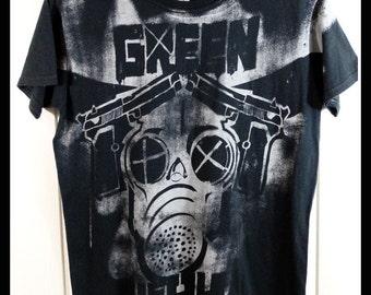 Green Day T Shirt T-shirt Tshirt Tee Small S Women Punk Rock Music Band