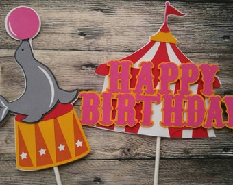 Circus Birthday Centerpiece, Carnival Centerpiece,Girl Circus Birthday Decorations,Circus Decorations, Carnival Birthday Decor, Circus Party