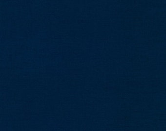 Kona® Cotton K001-1243 NAVY from Robert Kaufman 1/2 Yard