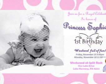 Sophia the 1st Birthday