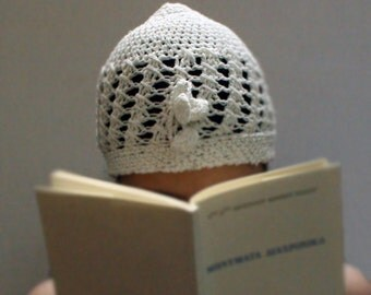 White Cotton Hat