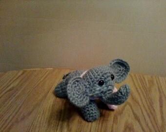 Amigurumi Crocheted Elephant