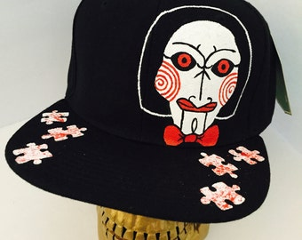 Saw Movie Jigsaw Billy the Puppet Snapback Hat