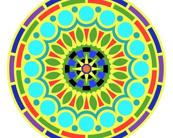 Zen Doodles Mandala