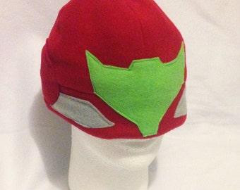 Samus/Metroid Reversible hat