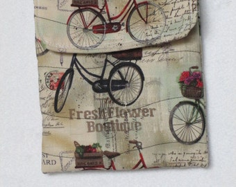 Bicycle sling purse