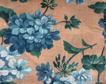 Floral Yardage, 1930s or 1940s