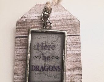Here Be Dragons Bookmark