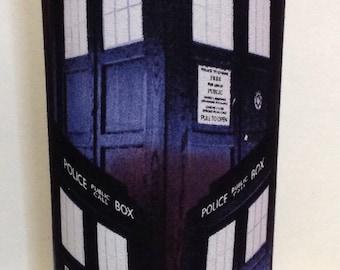 Cool Doctor Who Glass Cylinder Decorative Vase/Candleholder
