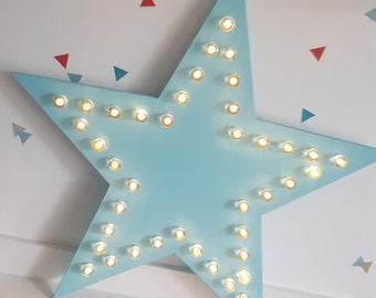 Star Marquee Light, Star Light, Light Up Star, Carnival Star