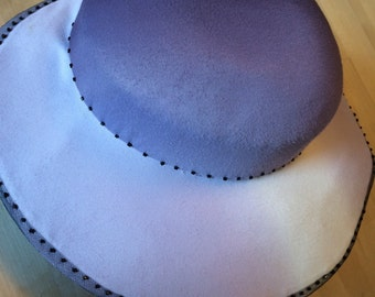 Beaded hand stitched hat
