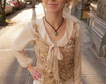 """Victorian Lacy Blouse-- """"ADALINE"""""""