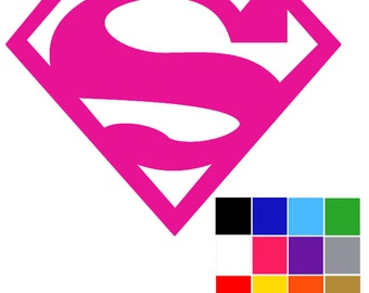 Supergirl Cosplay Stickers x 5. Car Macbook Laptop Tablet Window. Superman. Superwoman. FREE UK SHIPPING.