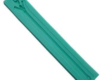 Zipper Shape Baking Fondant Silicone Mold