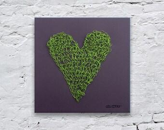Wire Heart Wall Art