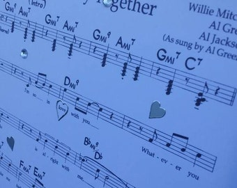Personalised First Dance Sheet Music