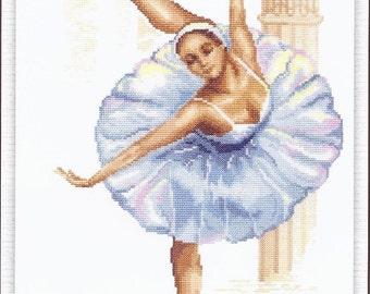 Cross Stitch Kit Ballerina 1