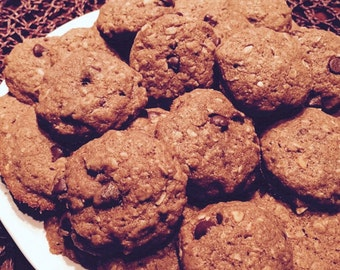 Lactation Cookies, Peanut Butter Chocolate Chip (qty: 12)