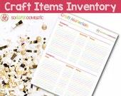 Craft Materials Inventory...